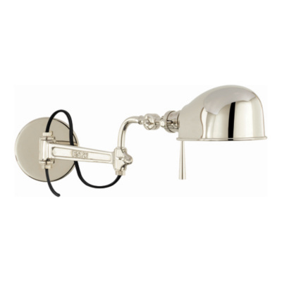 RL '67 Swing Arm Wall Lamp in Polished Nickel