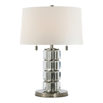 Brookings Table Lamp in Polished Nickel