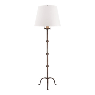 Robertson Floor Lamp in Natural Rust