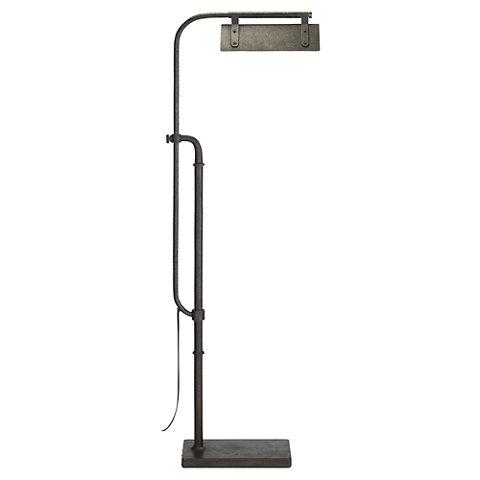Flint Pharmacy Floor Lamp In Aged Iron   Floor Lamps   Lighting   Products    Ralph Lauren Home   RalphLaurenHome.com