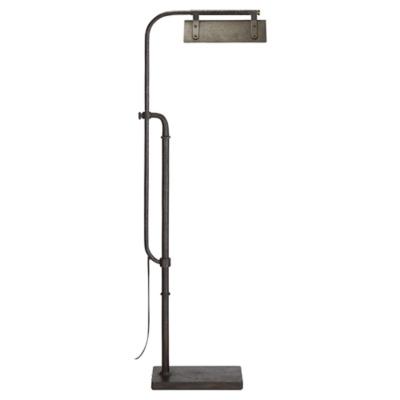 Flint Pharmacy Floor Lamp in Aged Iron
