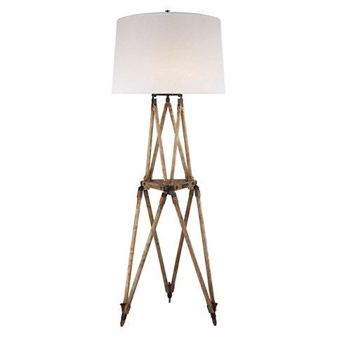 Quincy floor lamp in vintage oak floor lamps lighting products quincy floor lamp in vintage oak floor lamps lighting products ralph lauren home ralphlaurenhome aloadofball Images