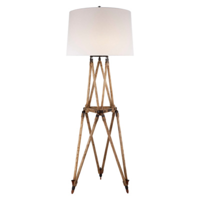 Quincy Floor Lamp in Vintage Oak