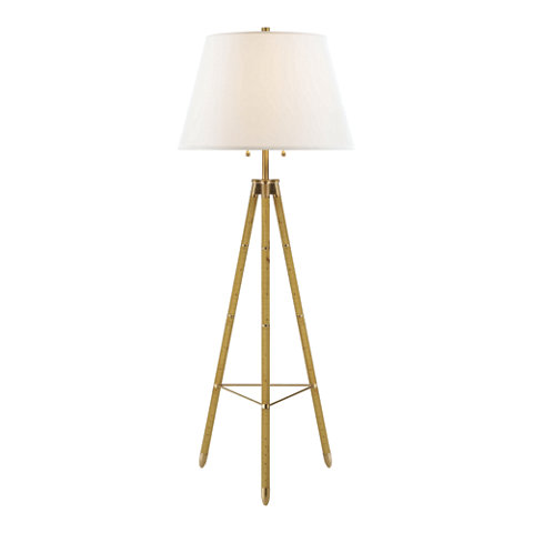 Irwin Floor Lamp In Birch Floor Lamps Lighting Products Ralph Lauren