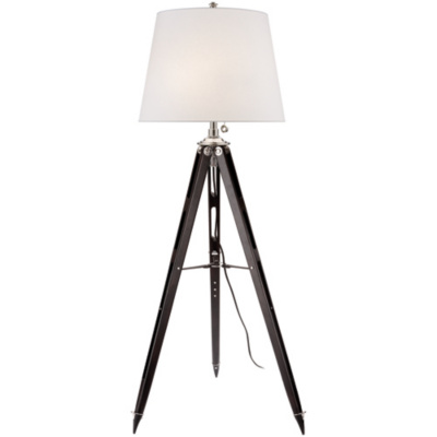 Holden Surveyor's Floor Lamp in Black