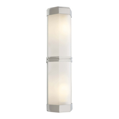 Berling Double Wall Sconce in Polished Nickel
