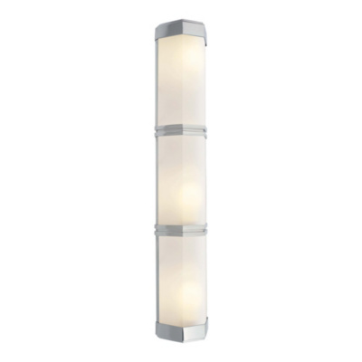 Berling Triple Wall Sconce in Polished Nickel