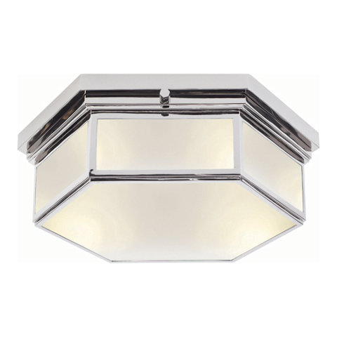 berling small ceiling fixture in polished nickel  ceiling, Lighting ideas
