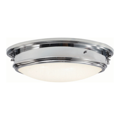 Marine Porthole Large in Polished Nickel