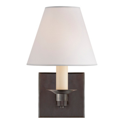 Evans Single Arm Sconce - Bronze
