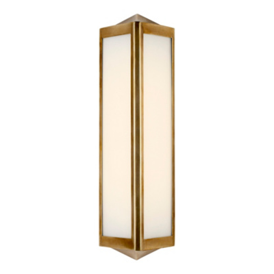 Geneva Small Sconce - Natural Brass