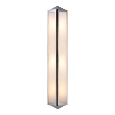 Geneva Medium Sconce - Polished Nickel