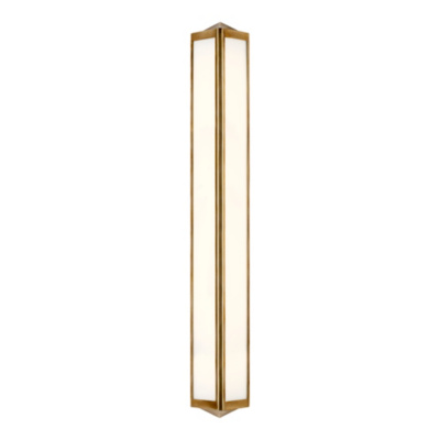 Geneva Large Sconce - Natural Brass
