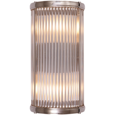 Allen Bath Small Linear Sconce in Polished Nickel
