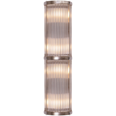 Allen Medium Linear Sconce in Polished Nickel