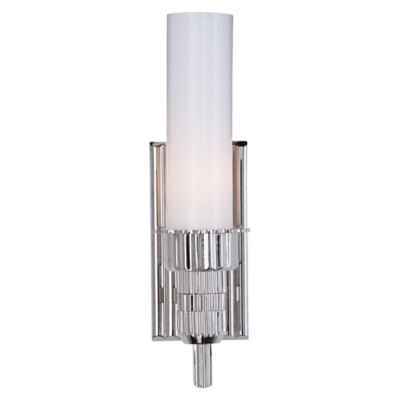 Briggs Bath Sconce in Polished Nickel