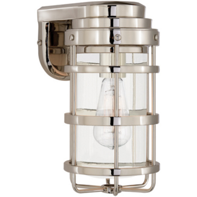 Crosby Small Sconce in Polished Nickel