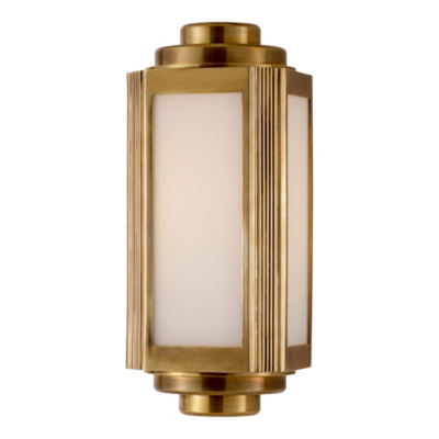 Keating Small Sconce - Natural Brass