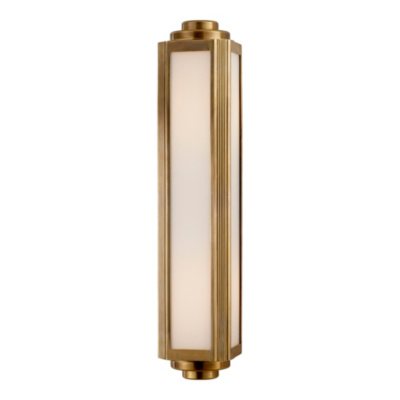 Keating Medium Sconce - Natural Brass