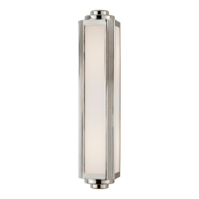 Keating Medium Sconce - Polished Nickel