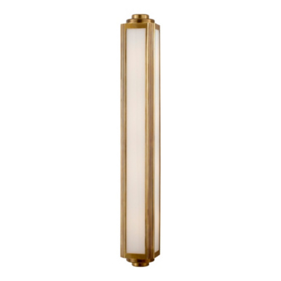 Keating Large Sconce - Natural Brass