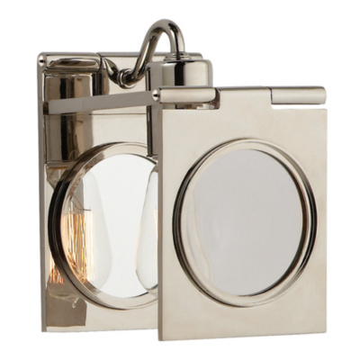 Dawes Sconce in Polished Nickel