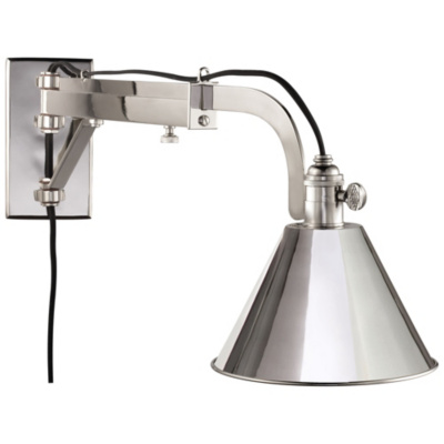 Ashcroft Sconce in Polished Nickel
