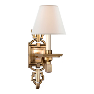 Evanna Sconce in Natural Brass