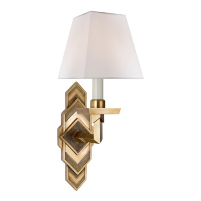 Alexis Sconce in Natural Brass