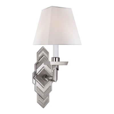 Alexis Sconce in Polished Nickel