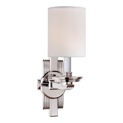 Chloe Jewelry Cuff Sconce in Polished Nickel