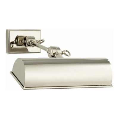 Anette Small Picture Lamp in Polished Nickel