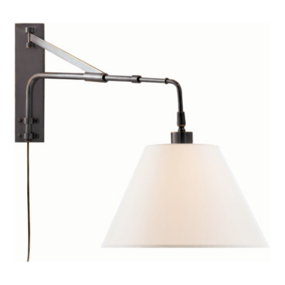 Wall Extension Light : Brompton Extension Swing Arm in Bronze - Wall Lamps / Sconces - Lighting - Products - Ralph ...