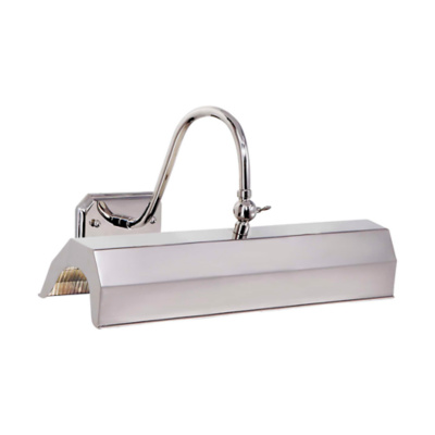 Willoughby Medium Picture Light in Polished Nickel