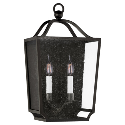 Beatrice Medium Wall Lantern in Aged Iron