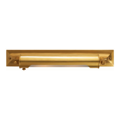 Hornsby Level Sconce in Natural Brass