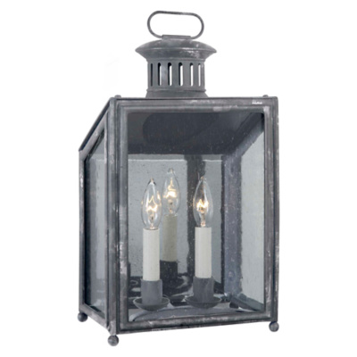 Mills Small Wall Lantern in Garden Zinc