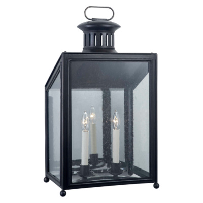 Mills Medium Wall Lantern in Aged Iron
