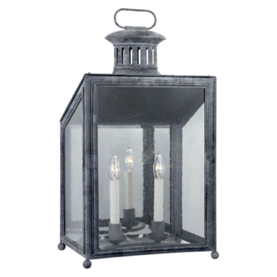 Mills Medium Wall Lantern in Garden Zinc