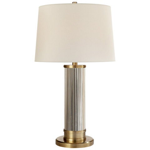 Allen table lamp in natural brass table lamps lighting allen table lamp in natural brass table lamps lighting products ralph lauren home ralphlaurenhome aloadofball Choice Image