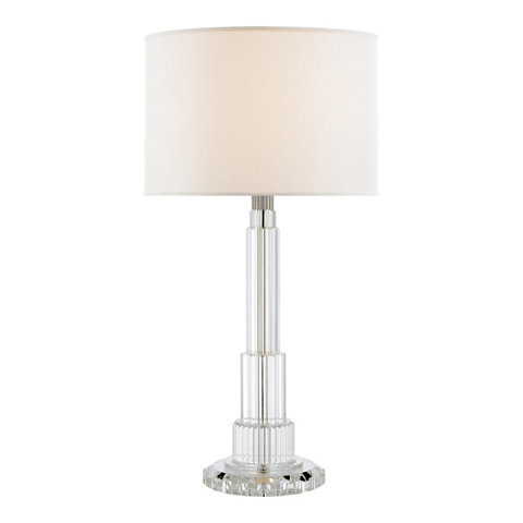 Briggs Table Lamp   Crystal