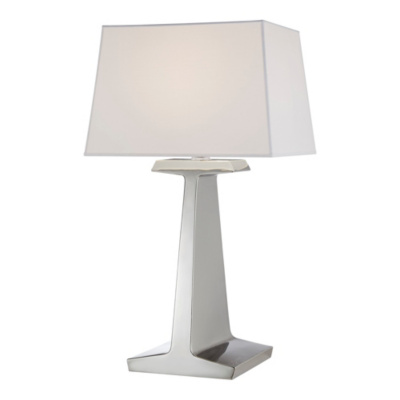Ludlow Lamp - Polished Nickel