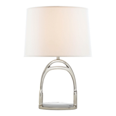 Westbury Table Lamp in Polished Nickel