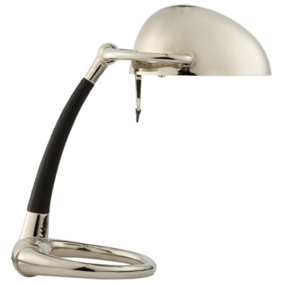 Westbury Task Lamp in Polished Nickel
