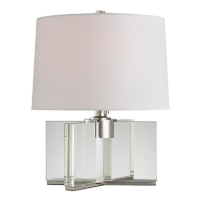 Felix X Base Accent Lamp in Polished Nickel