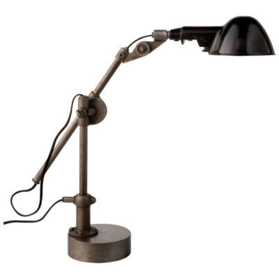 Freeman Table Lamp in Industrial Steel