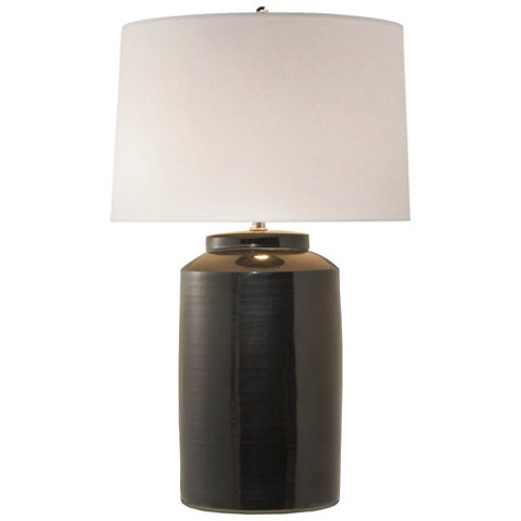 Carter large table lamp in black porcelain table lamps carter large table lamp in black porcelain table lamps lighting products ralph lauren home ralphlaurenhome aloadofball Image collections