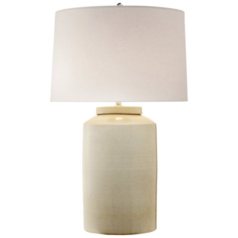 Carter Large Table Lamp In White