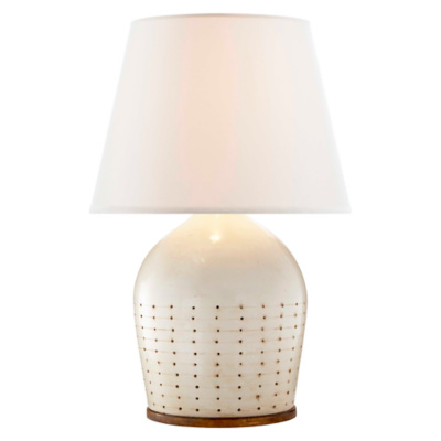 Halifax Large Table Lamp in Coconut