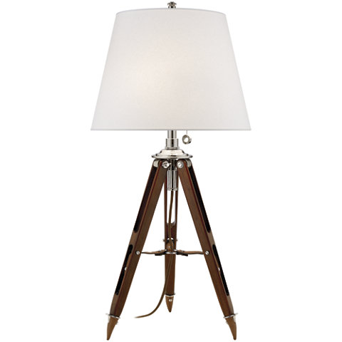 Beau Holden Surveyoru0027s Table Lamp In Mahogany   Table Lamps   Lighting    Products   Ralph Lauren Home   RalphLaurenHome.com